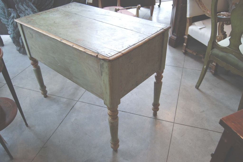 19th Century Painted Desk For Sale 1