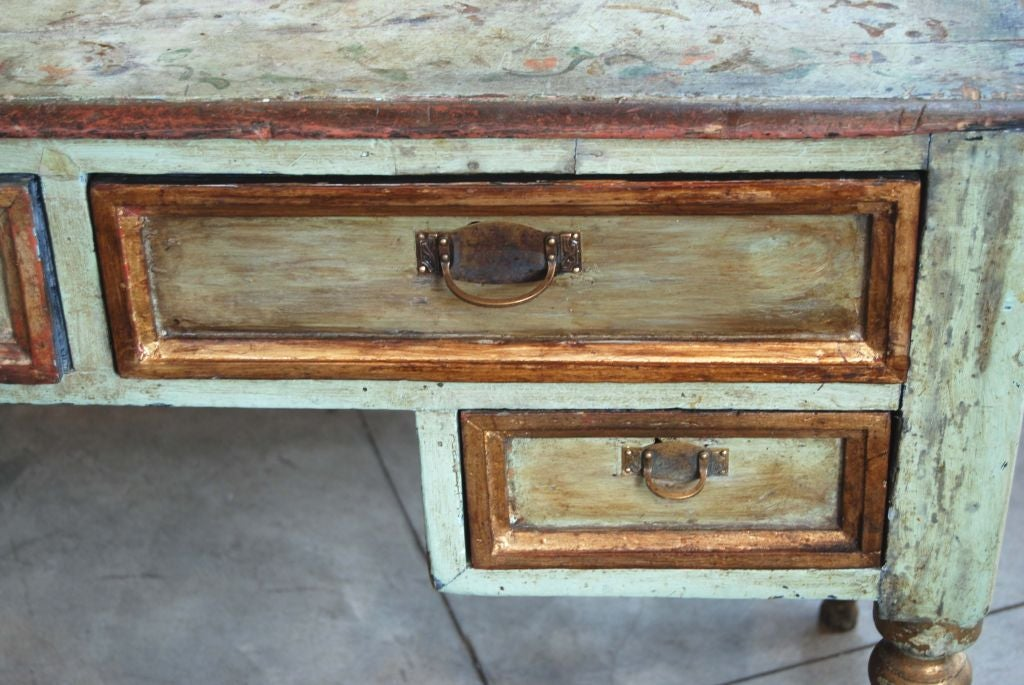 19th Century Painted Desk For Sale 2