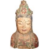 18th c. Wooden Buddha