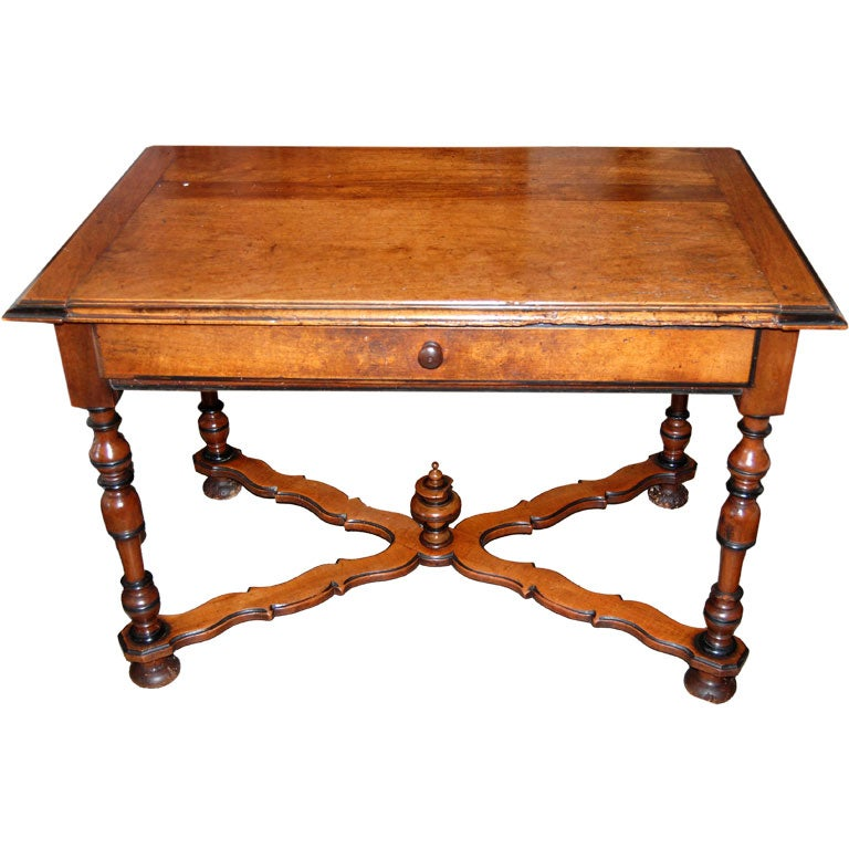 18th c. Walnut Writing Table
