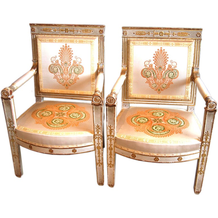 Period empire armchairs at 1stdibs for Empire antiques new orleans