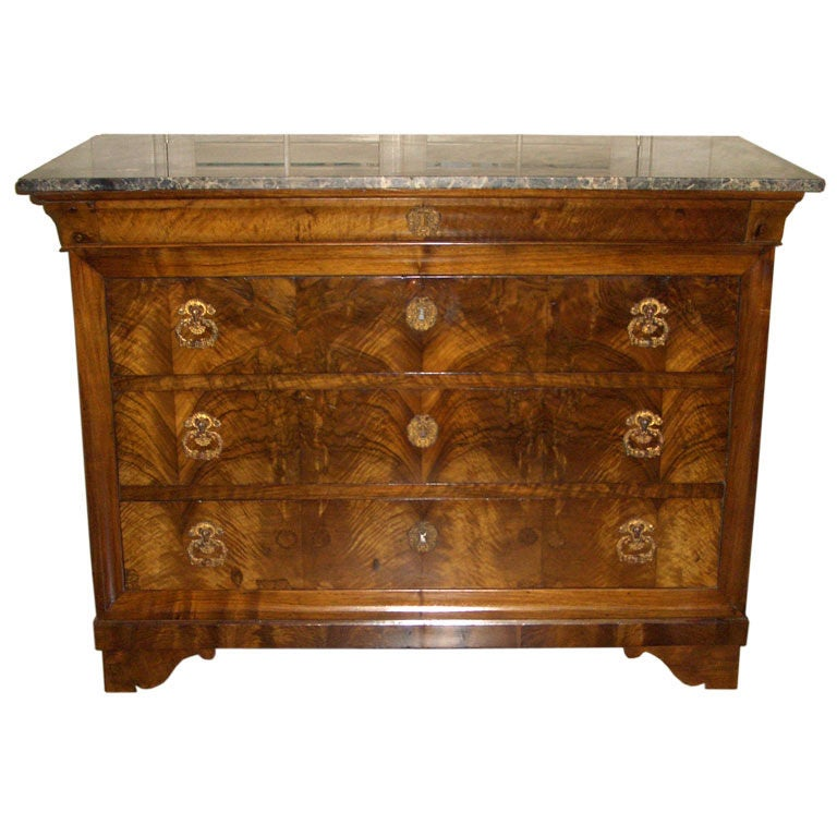 louis philippe commode at 1stdibs. Black Bedroom Furniture Sets. Home Design Ideas