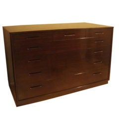Mahogany New World Dresser by Edward Wormley for Dunbar