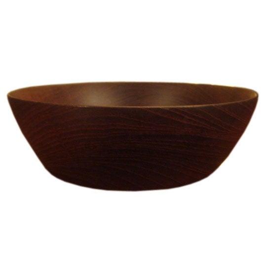Vintage Bob Stocksdale Siam Teak Wood Bowl For Sale