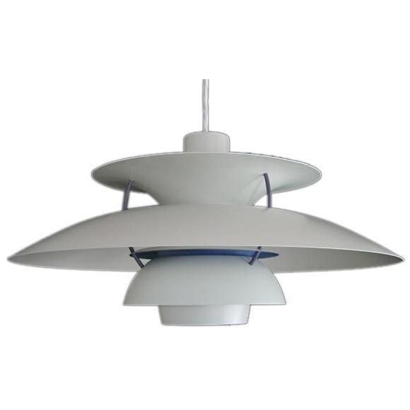 vintage ph 4 3 hanging lamp by poul henningsen for sale at 1stdibs. Black Bedroom Furniture Sets. Home Design Ideas