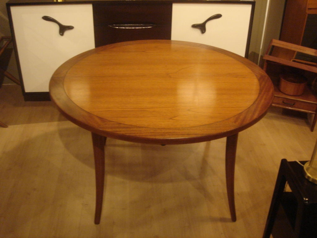 Klismos Round Dining Table by Harvey Probber at 1stdibs : probberdiningtable8 from www.1stdibs.com size 1024 x 768 jpeg 74kB