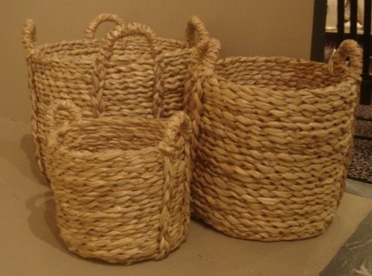 Woven Basket Building : Woven rush planter for sale at stdibs