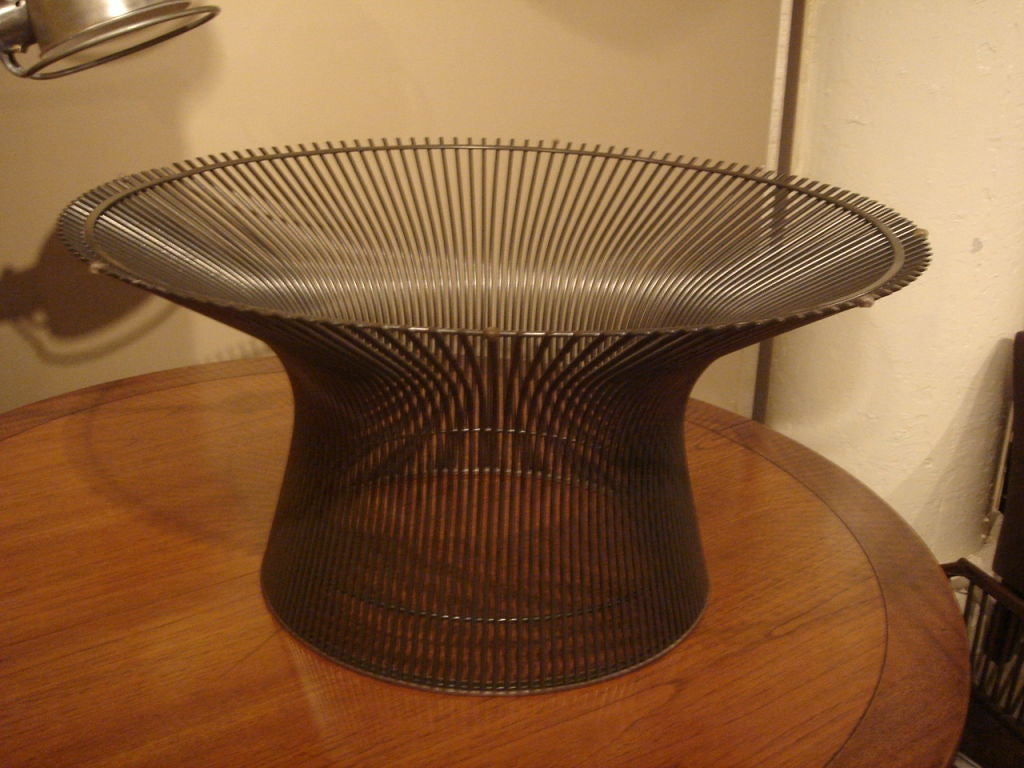 Vintage Bronze Coffee Table by Warren Platner for Knoll For Sale ...