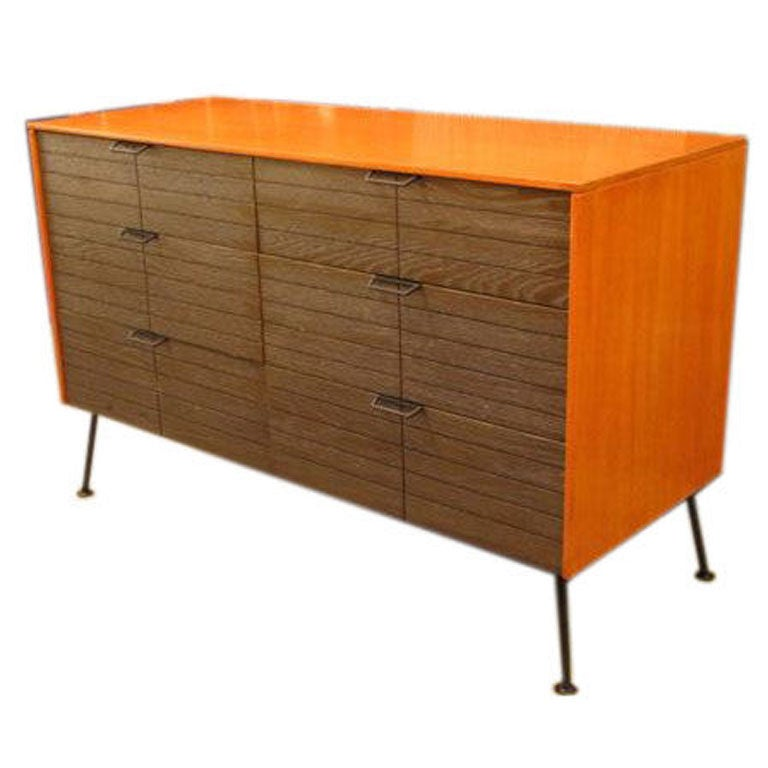 Dresser Chest Of Drawers By Raymond Loewy For Mengel At