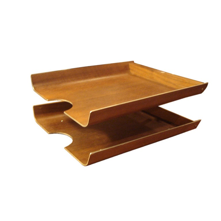 Bentwood letter tray by peter pepper products at 1stdibs for Furniture 6 letters