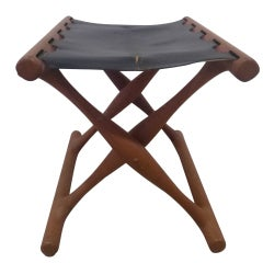 Gold Hill Stool by Poul Hundevad