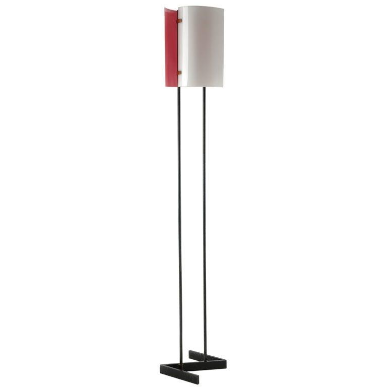 Rare Floor Lamp by Stilnovo