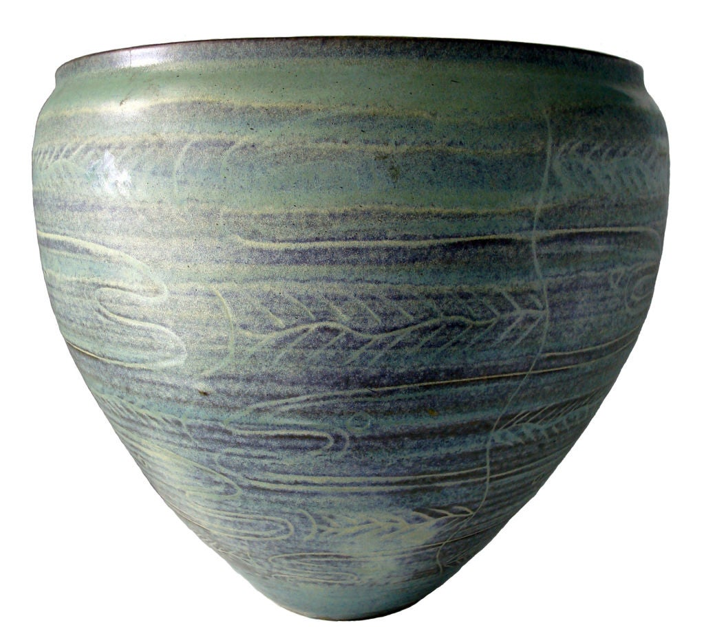Early Bowl by Edwin and Mary Scheier