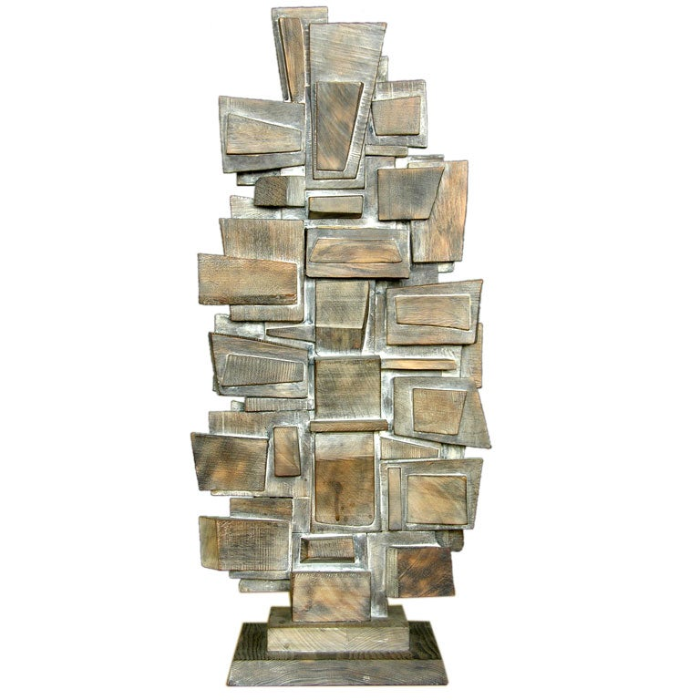 Manuel izquedero wooden sculpture at stdibs