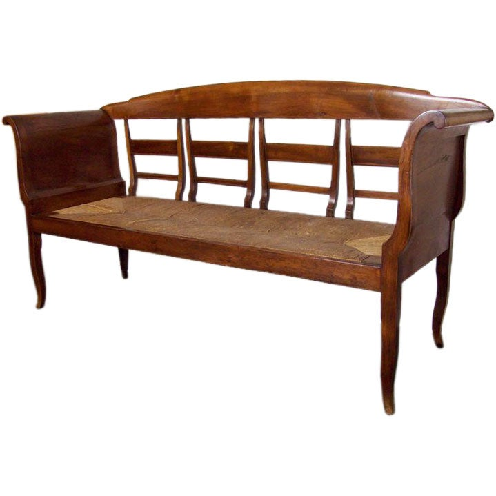 Rush Seat Bench 28 Images Walnut And Rush Seat Bench