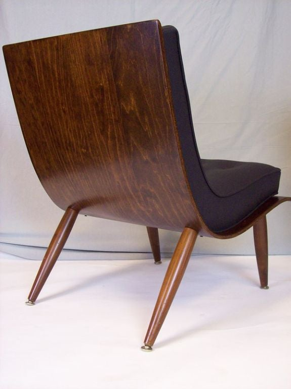 1960 S Danish Bent Plywood Chairs In The Style Of Hans