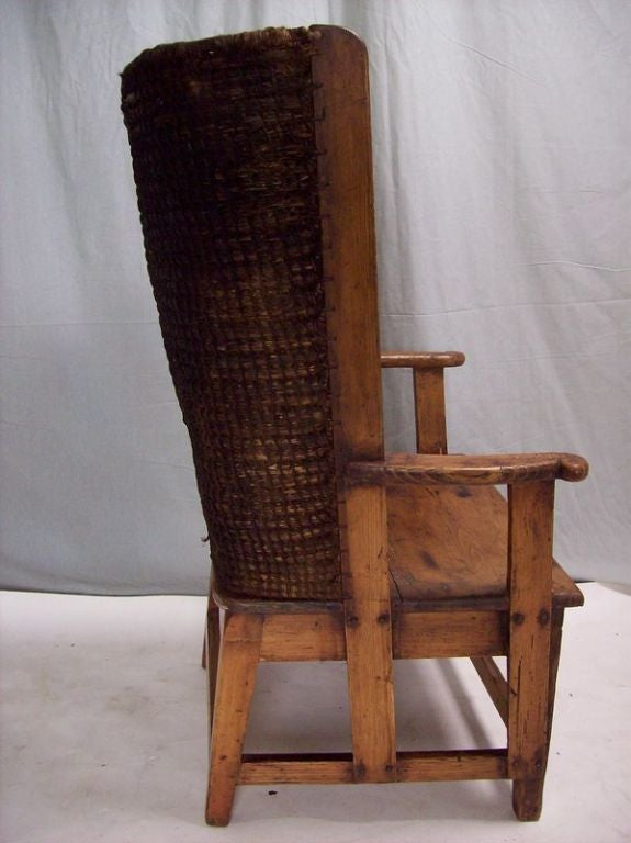 A classic original antique Orkney chair from the islands off the north  coast of Scotland. - Antique Orkney Islands Chair-Two Others Available At 1stdibs