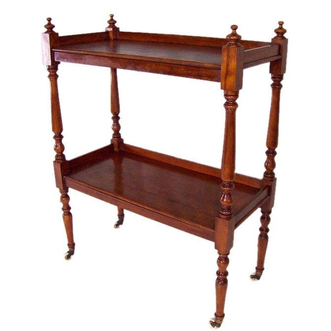Antique english regency dumbwaiter at stdibs