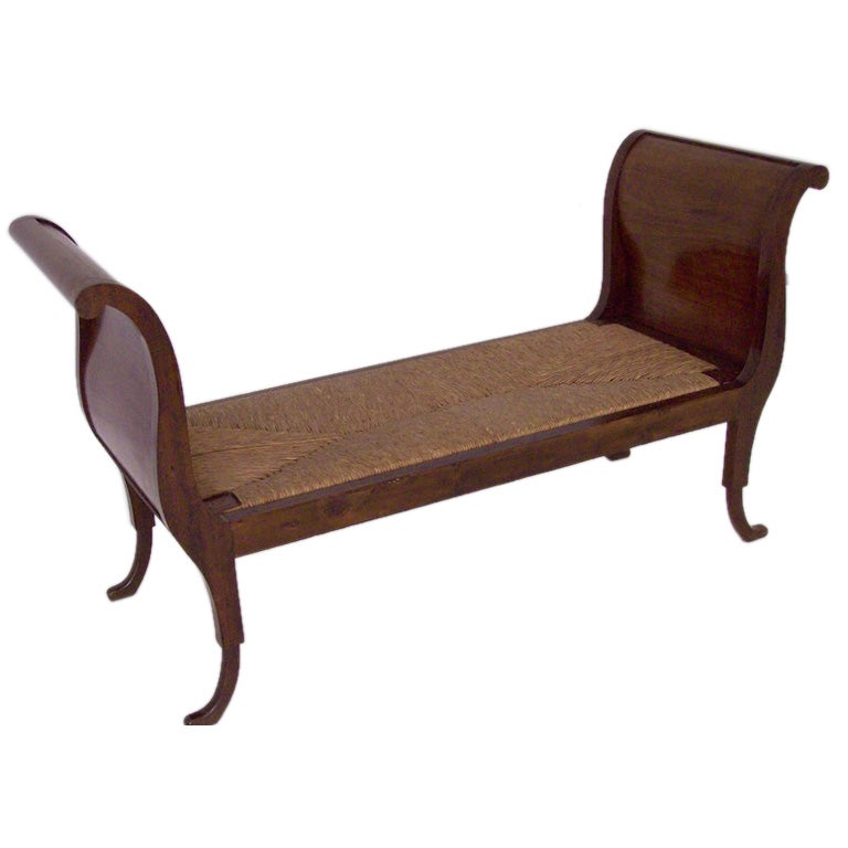 antique french sleigh bench at 1stdibs