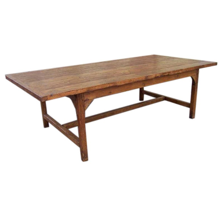 very large french pine farm table at 1stdibs