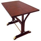 Original Thonet Brass-Footed Bistro Table