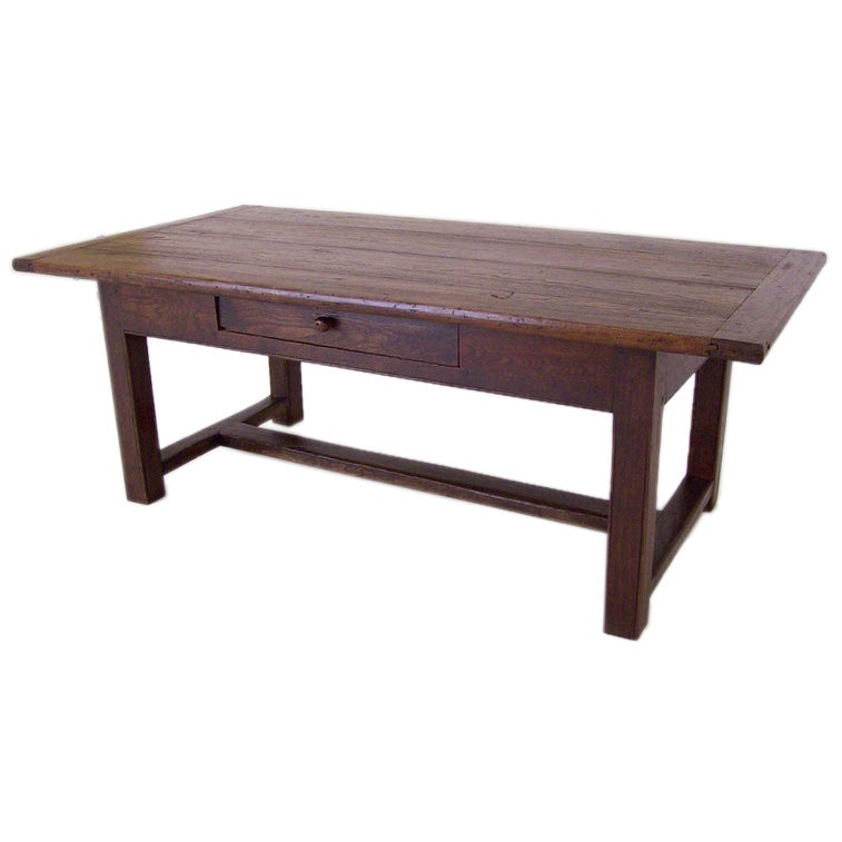 Antique Pine Coffee Tables: Antique French Pine And Oak Coffee Table At 1stdibs