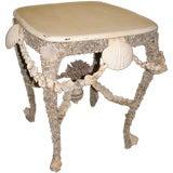 Seashell Vintage Table