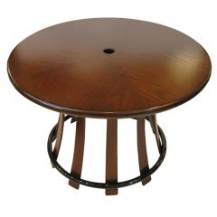 "Edward Wormley for Dunbar ""Toadstool Table"""