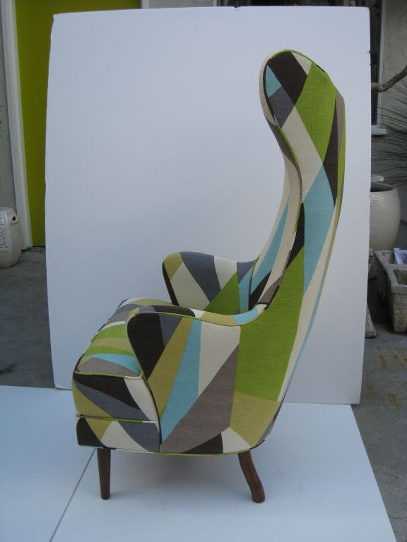 Contemporary Pair of Milano Chairs