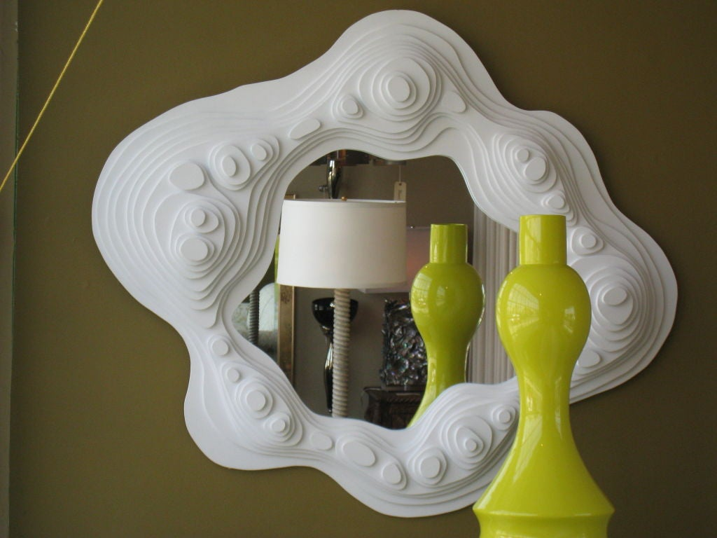 Downtown Classics Collection Plateau Mirror In Excellent Condition For Sale In Los Angeles, CA