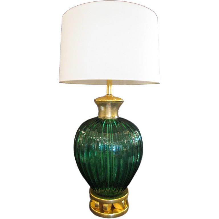 Large Seguso Table Lamp