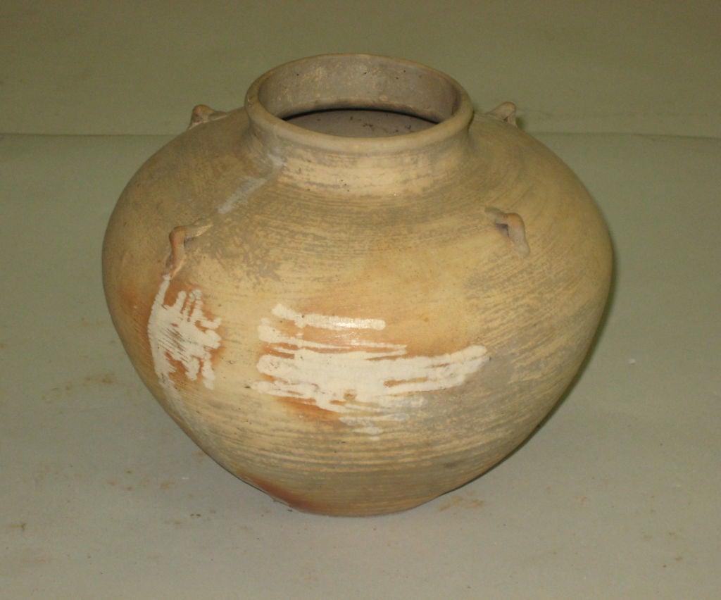 3 Antique Khmer Pottery Vases 4