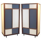 Two French Modernist Cabinets by Andre Sornay