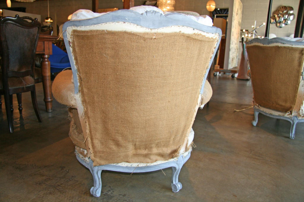 Pair Of French Armchairs At 1stdibs