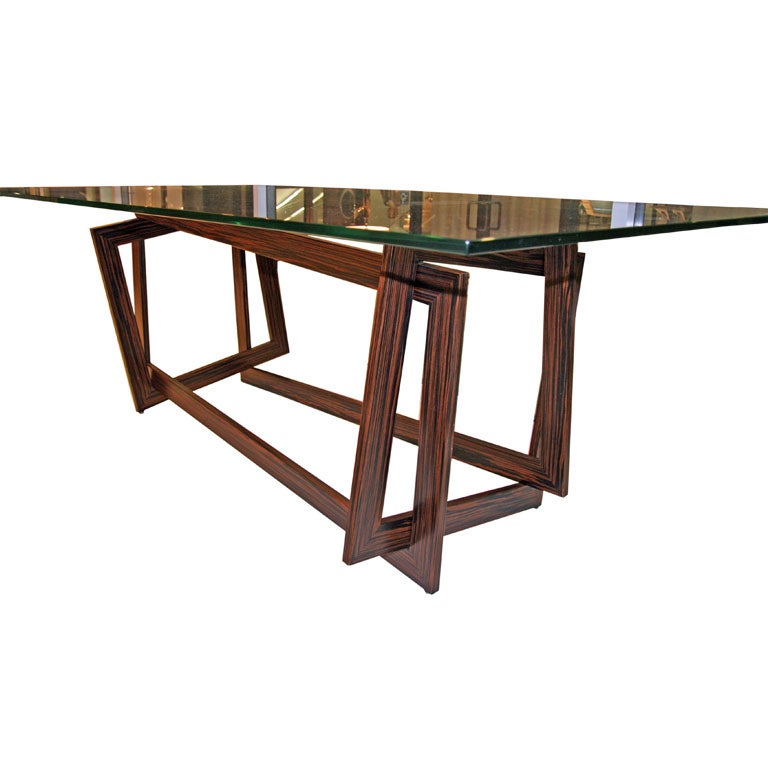 "Raniero Aureli's Custom ""Soqquadro"" Table For Sale"