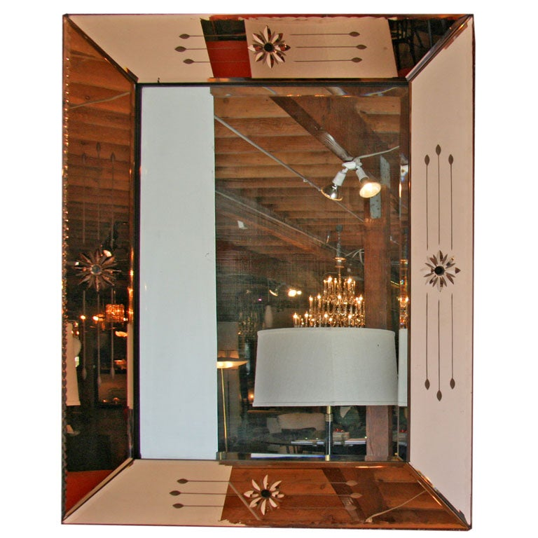 French 50s Mirror
