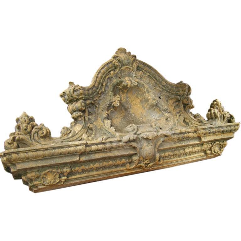 19th C. Ornamental Terra Cotta