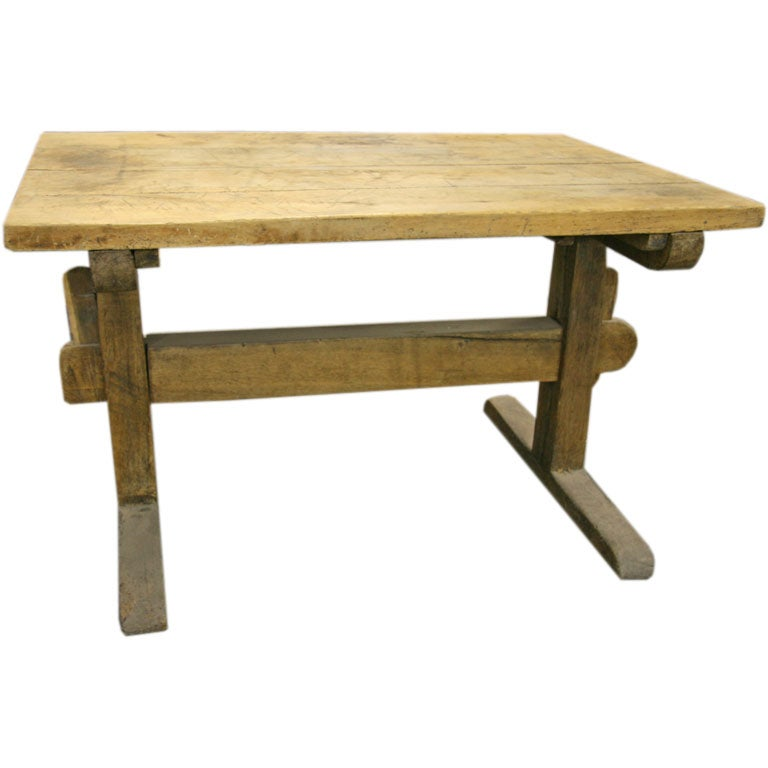 Italian Rustic Table At 1stdibs