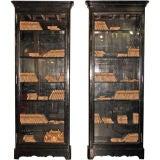 ma+39's Custom Black Lacquered Bookcases