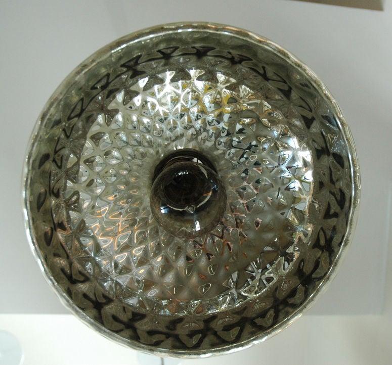 Mercury Glass Pendant 3