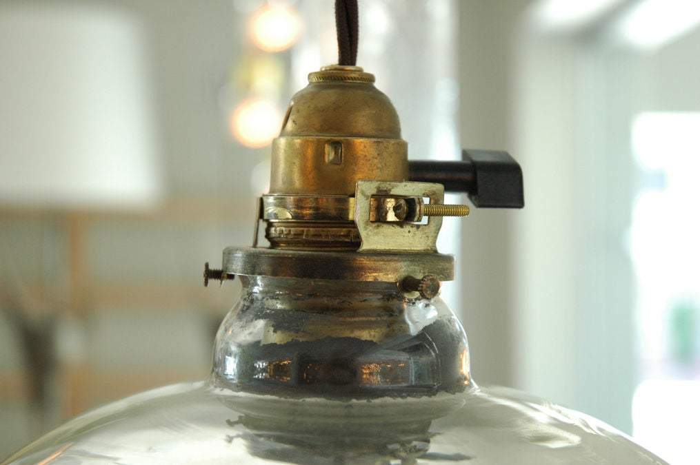 Mercury Glass Pendant 5