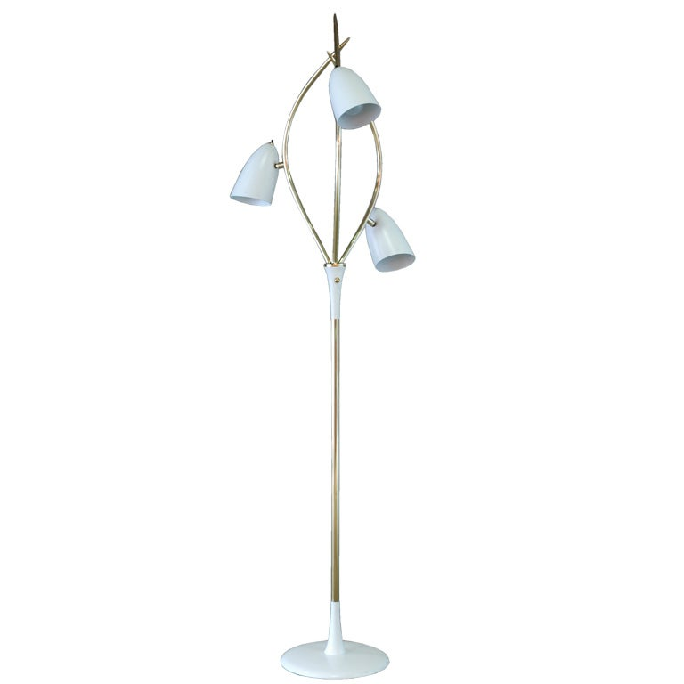 sculptural floor lamp at 1stdibs