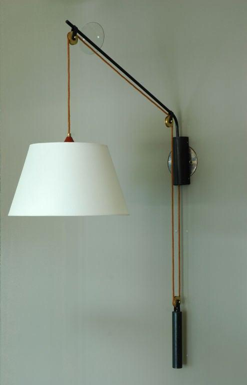 Stilnovo Pulley Wall Lamp at 1stdibs