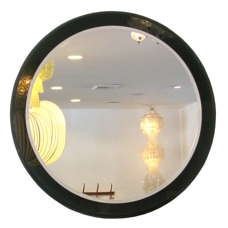 Large Dark Grey Mirror At 1stdibs