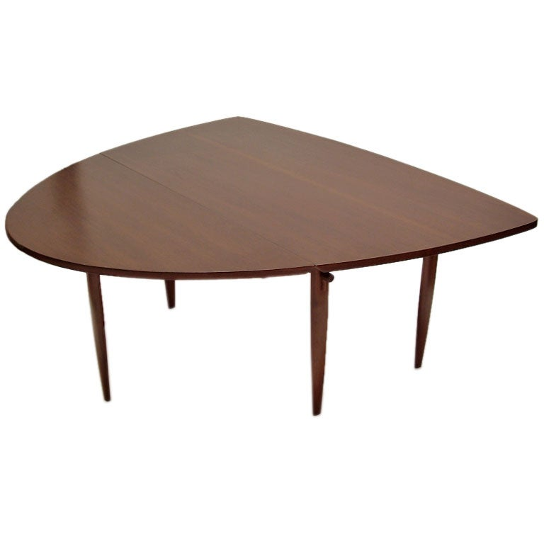 unusual drop leaf dining table by george nakashima for unusual extension dining table 20th century furniture
