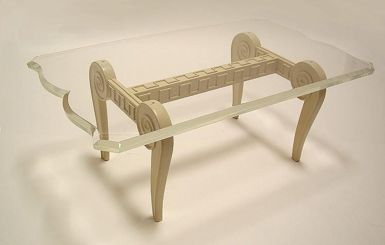 Mid-Century Modern Paul Laszlo Custom Coffee Table For Sale