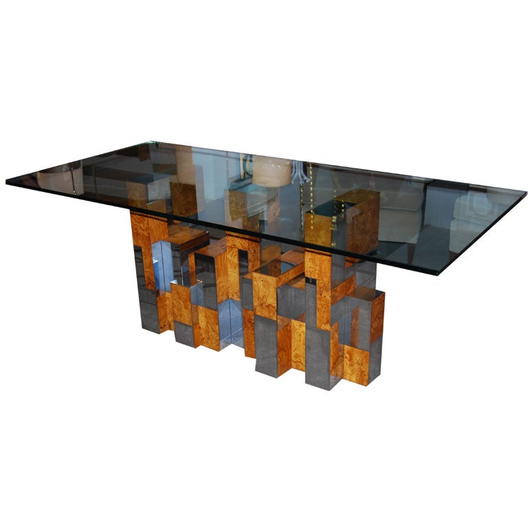 Paul Evans Cityscape Dining Table At 1stdibs