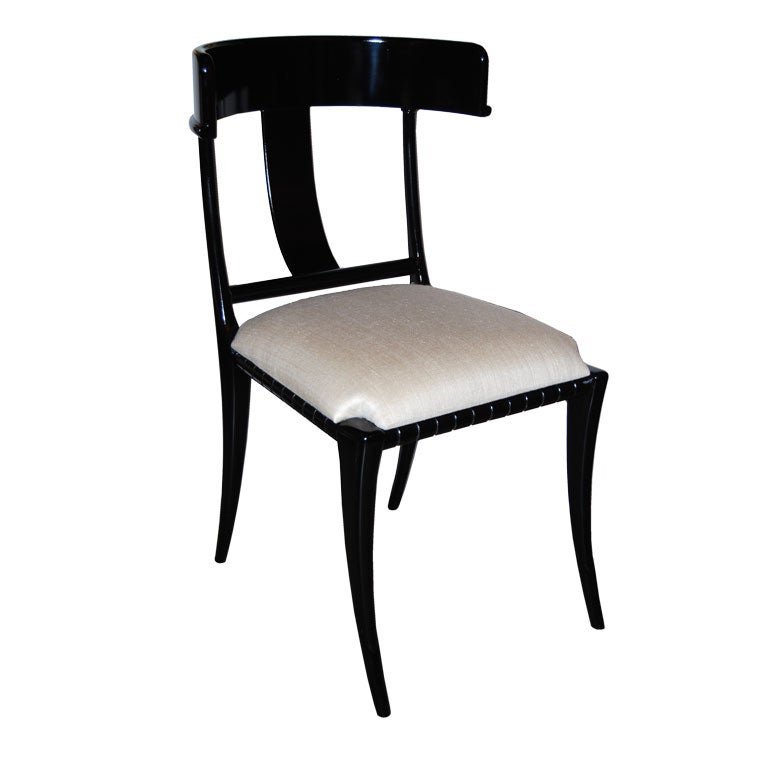 Klismos Style Occassional Chair at 1stdibs