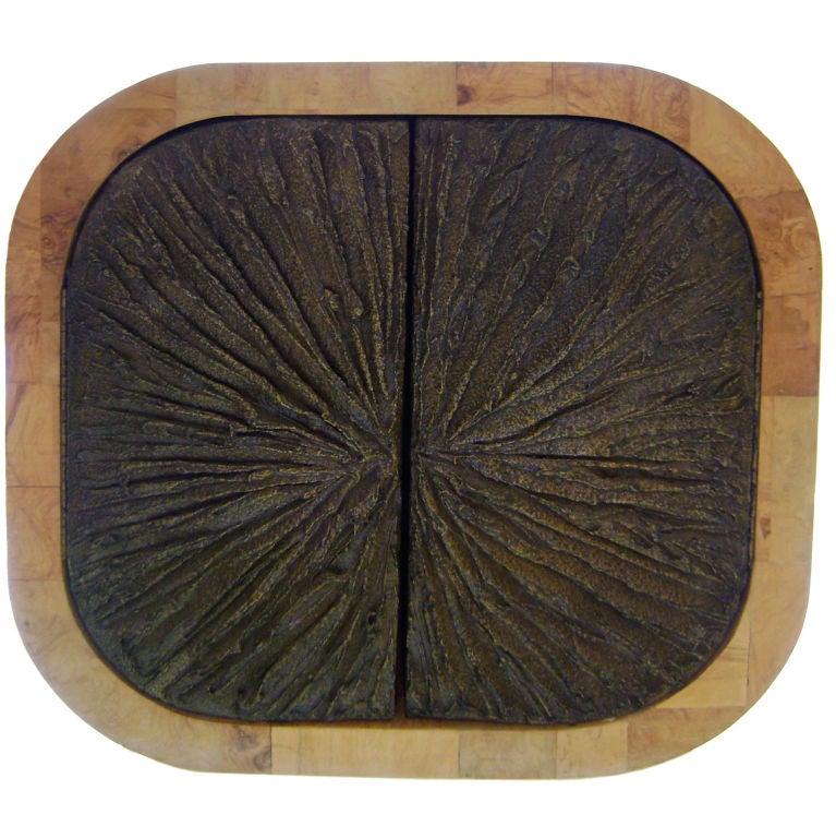 Modern One - Paul Evans - Paul Evans Olive Burl Wall Cabinet