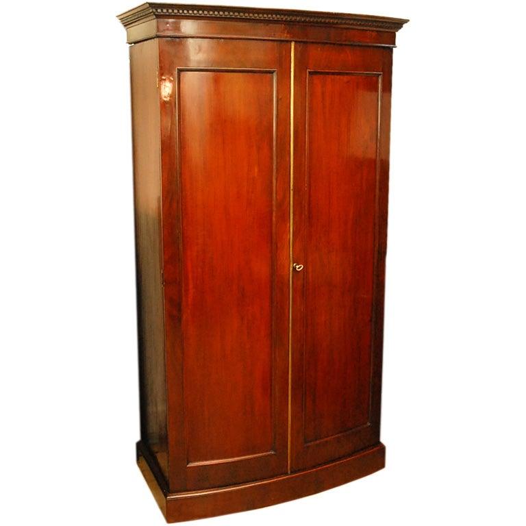 english mahogany wardrobe circa 1860 at 1stdibs
